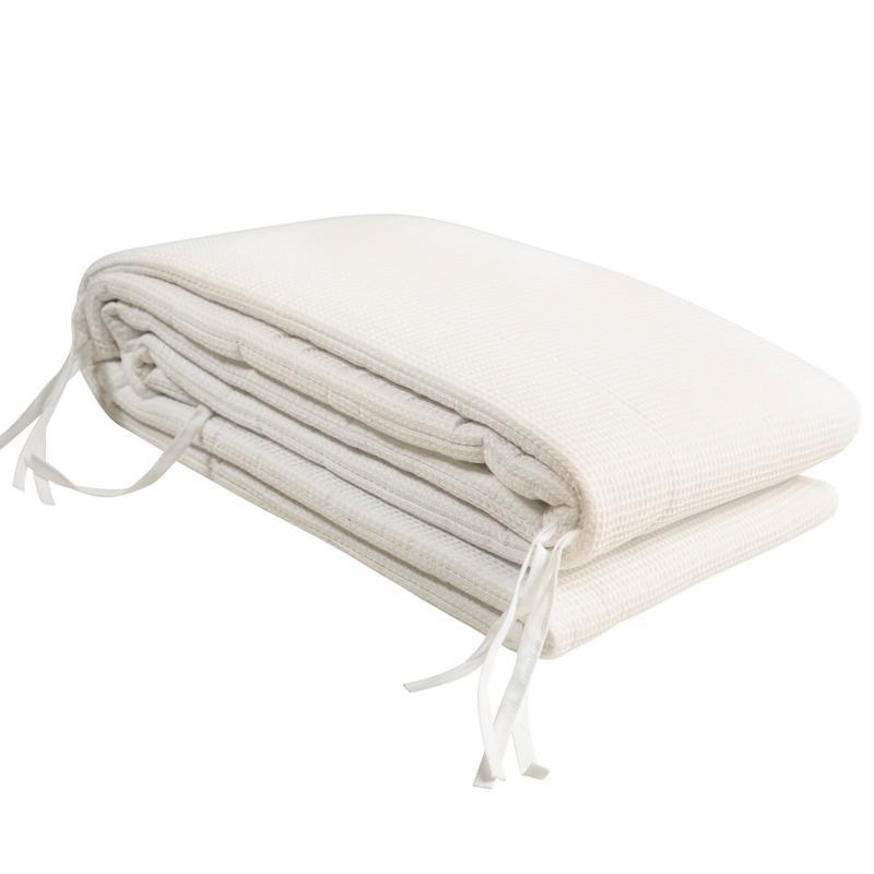 Bed bumper waffle