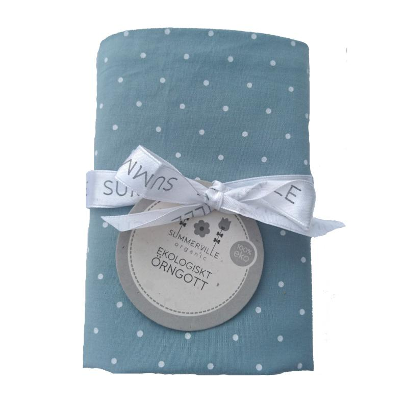Pillow case junior sapphire dotty