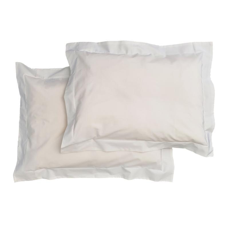Pillow case 2 pcs junior white classic GOTS