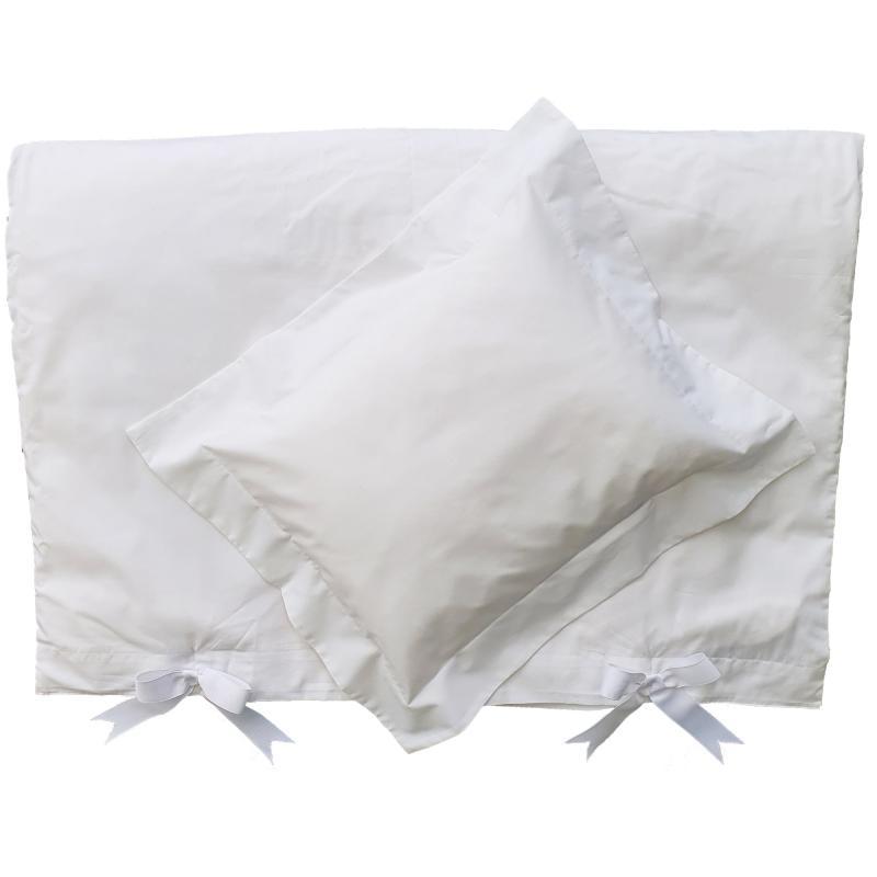 Bedding junior white classic GOTS