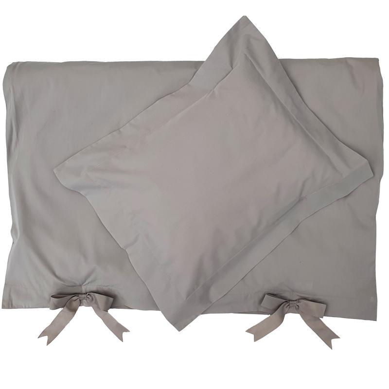 Bedding junior grey classic GOTS