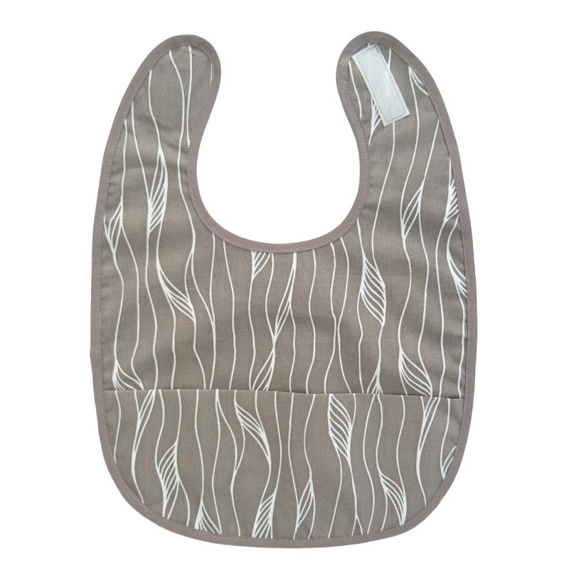Bib grey twist