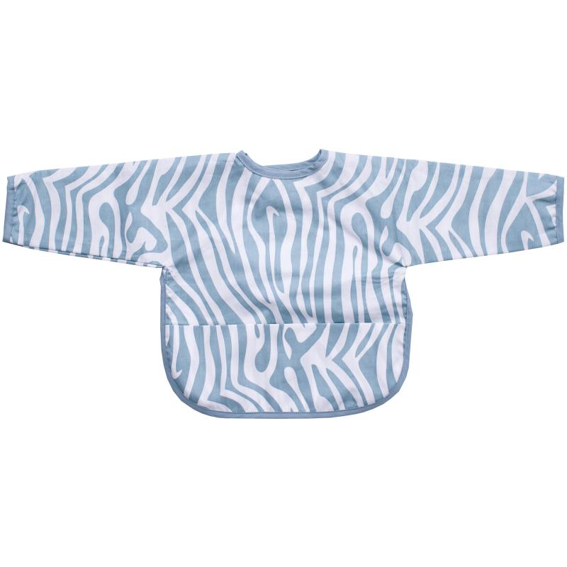 Bib with sleeves animal sapphire
