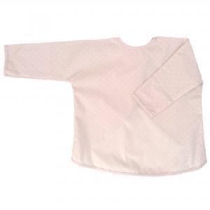 Apron pale pink dotty