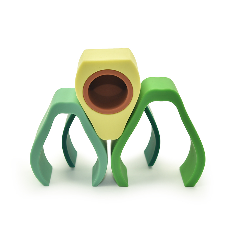 Avocado stacking toy