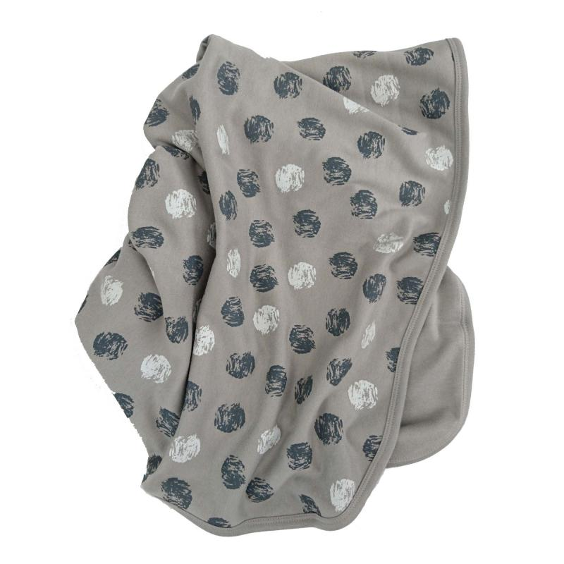 Babyblanket paint grey
