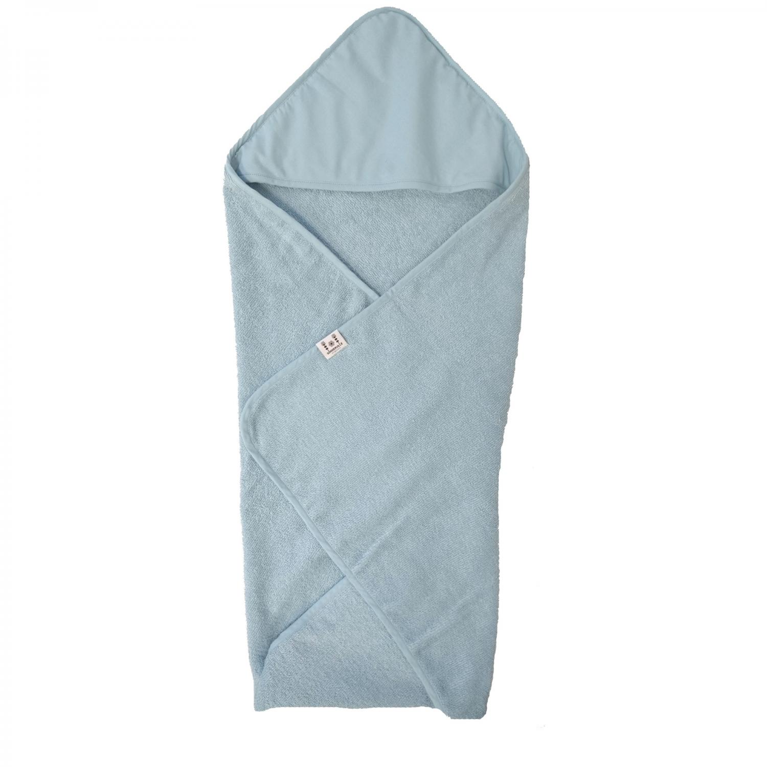 Hooded towel style sapphire