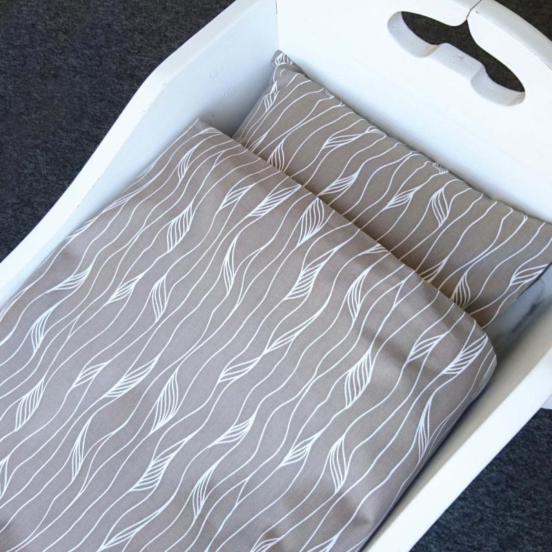 Bedding baby grey twist