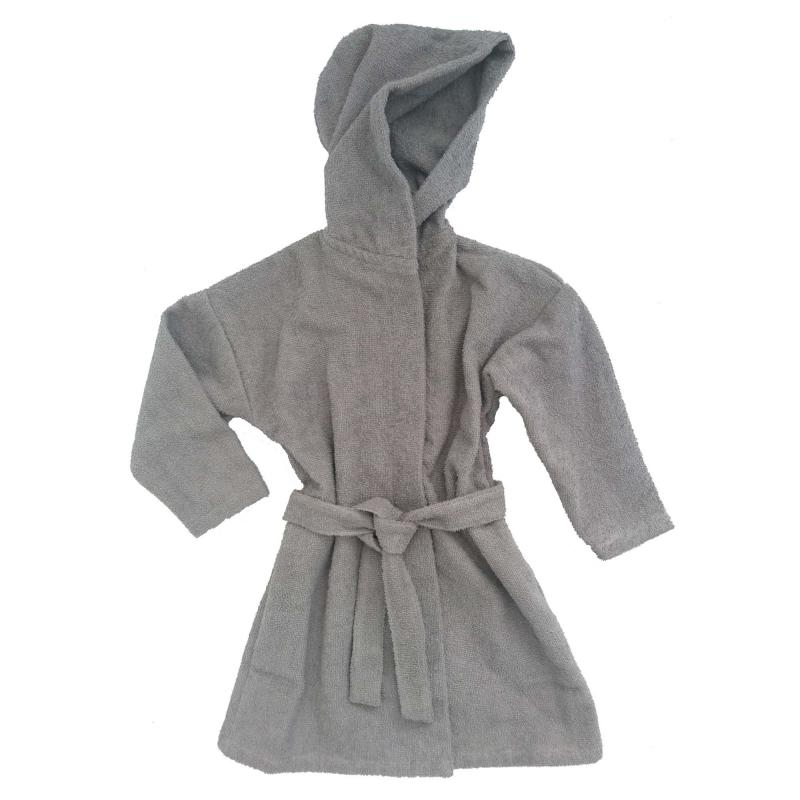 Bath robe grey