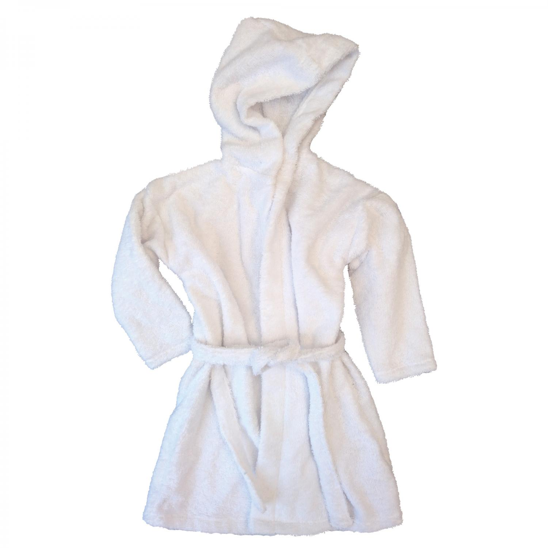Bath robe white