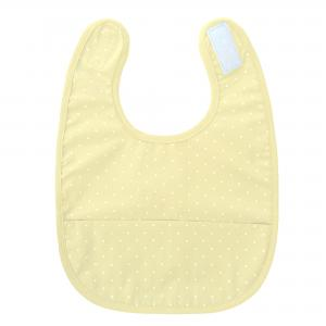 Bib yellow dotty