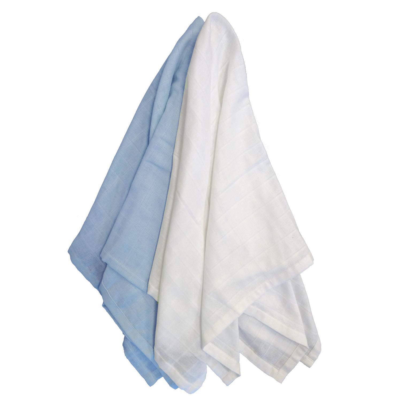 Muslin 2-pack forever blue