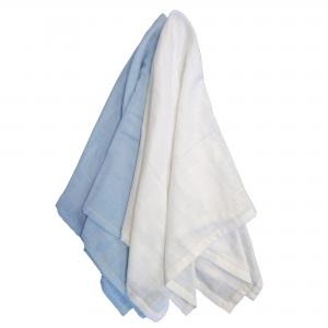 Muslin 2-pack forever blue GOTS