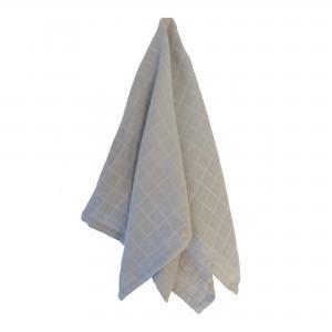 Muslin blanket grey
