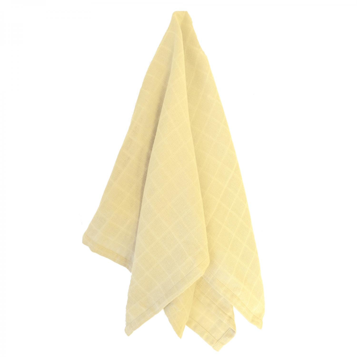 Muslin blanket yellow