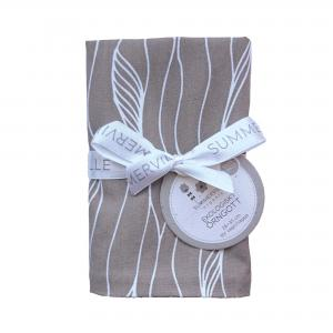 Pillow case junior grey twist