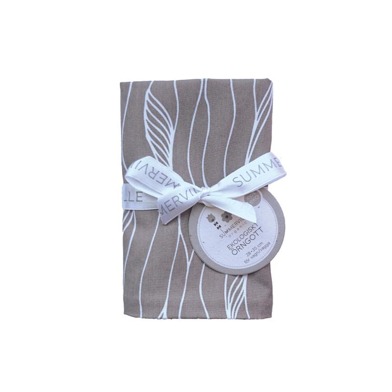 Pillow case baby grey twist