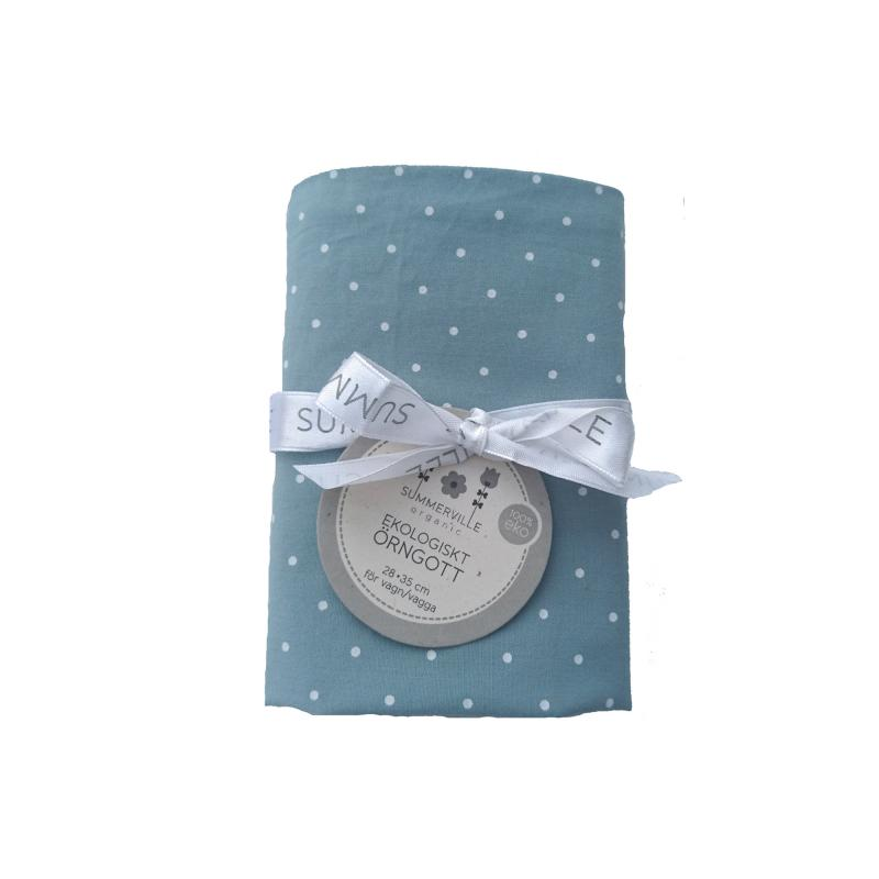Pillow case baby sapphire dotty