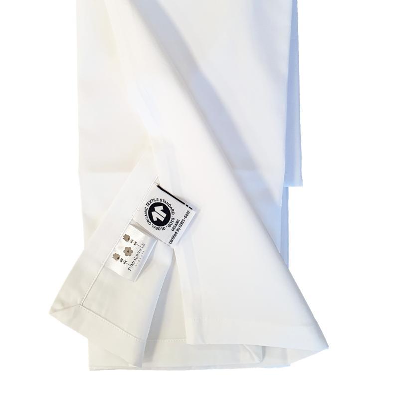 Flat sheet baby white