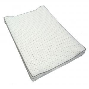 Changing pad white dotty