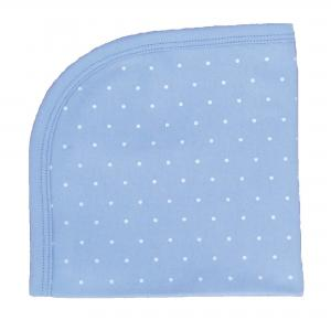 Blankie blue dotty