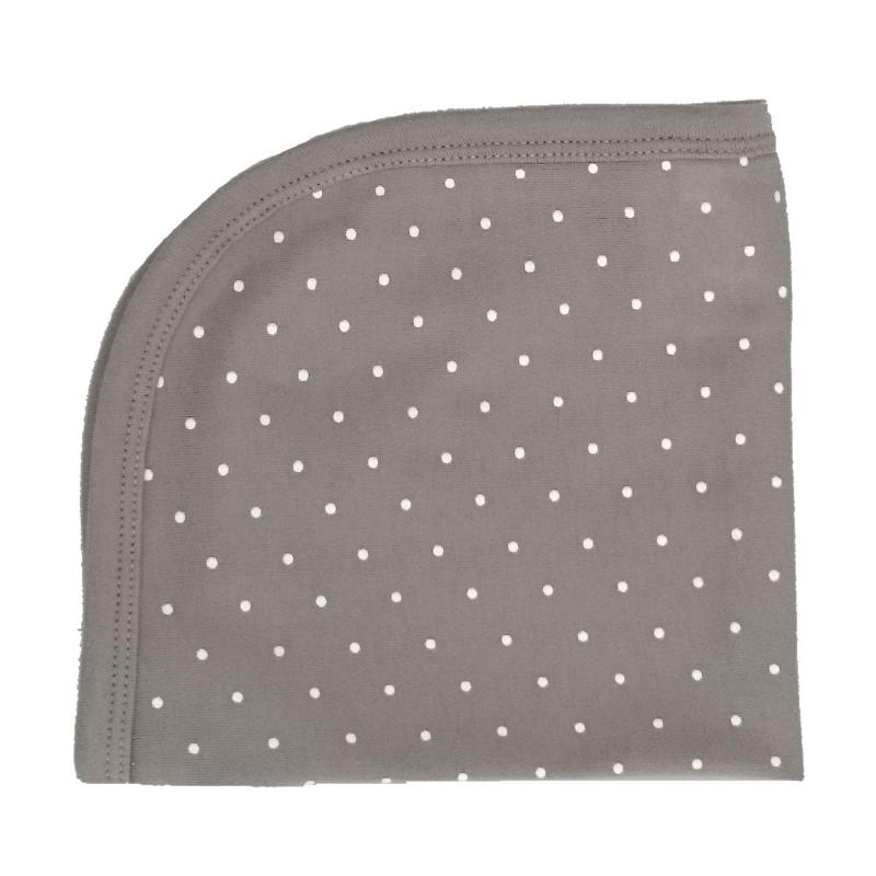 Blankie grey dotty