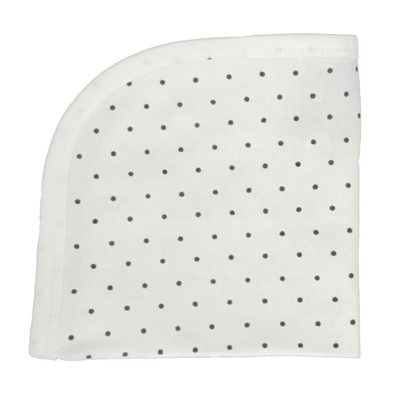 Blankie white dotty