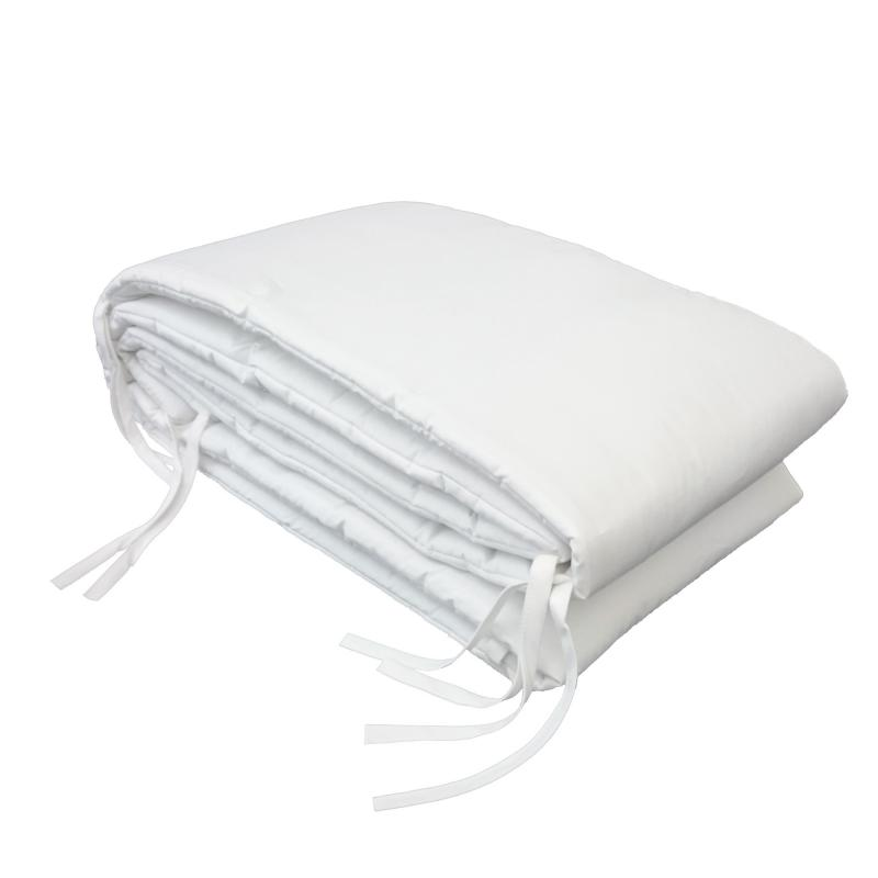 Bed bumper white