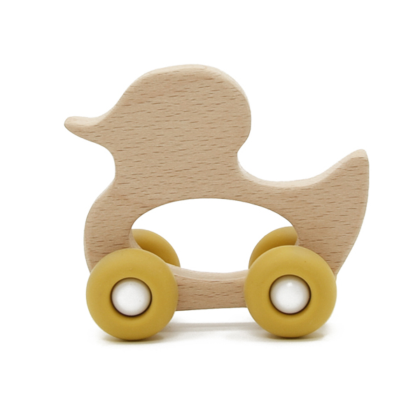 Duck with wheels