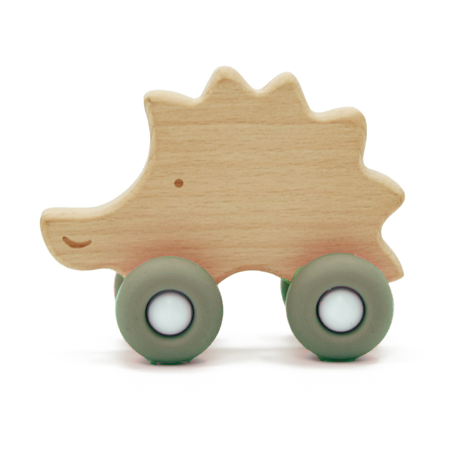 Hedgehog with wheels