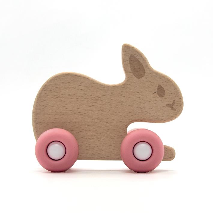 Rabbit with wheels
