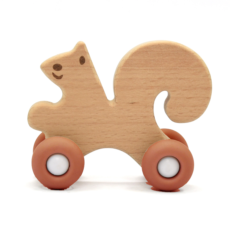 Squirrel with wheels