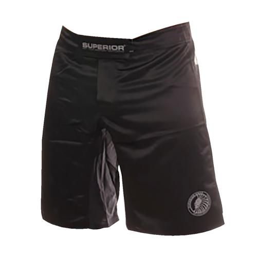 Superior Wear MMA Shorts Original MMA Black