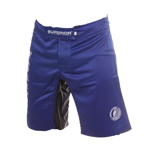 Superior Wear MMA Shorts I Collect Scars Marine Blue