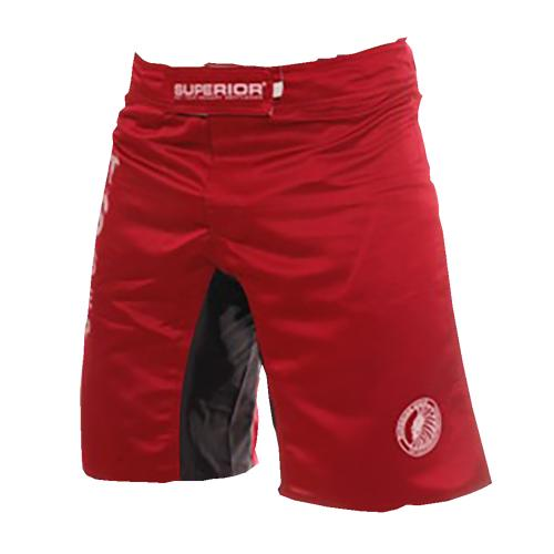 Superior Wear MMA Shorts I Collect Scars Red