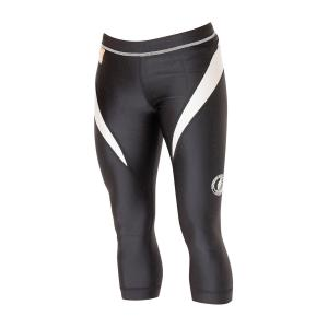 Superior Wear Women's Three-Quarter Compression Tights G1 Black/White