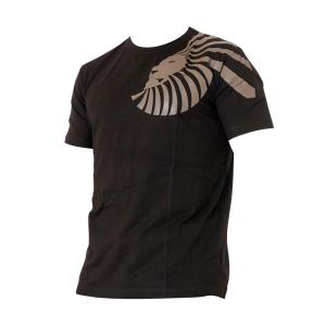Superior Wear T-Shirt Bamboo Single Lion Black