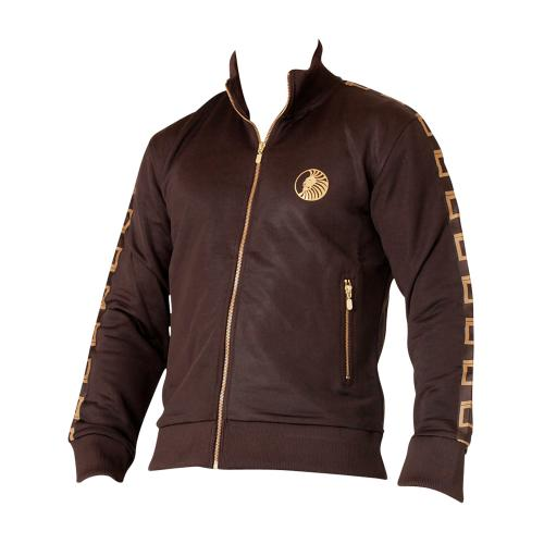 Superior Wear Track Jacket svart kaffe