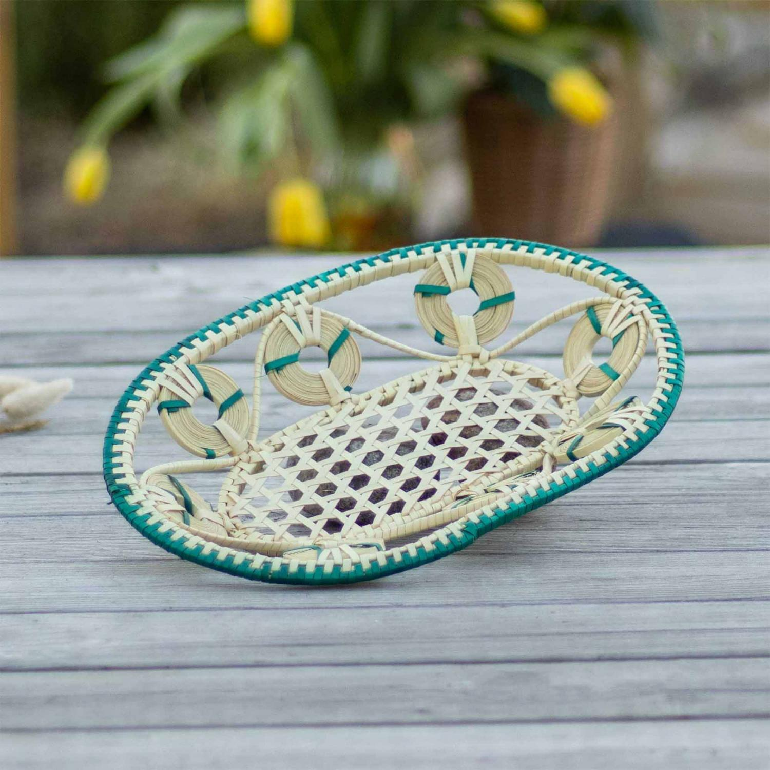 Bloom Boat Oval Tray