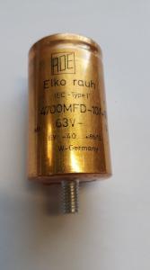 Kondensator Elektrolyt 4700MFD 63V