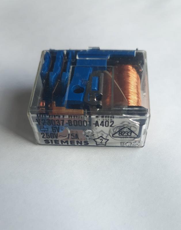 Relä 6V på spolen 250v AC 5a Normally Open