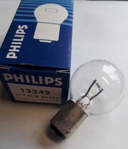 Glödlampa med Bajonettsockel  Ba15d 20W 24V