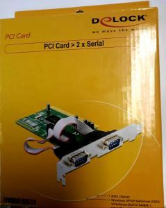 PCI Card > 2 x Serial, Delock
