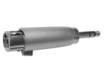 3 Pol XLR Hon - 6.35mm Jack Han, Stereo