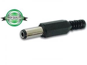 DC-plugg 2,1 mm - lång 14 mm