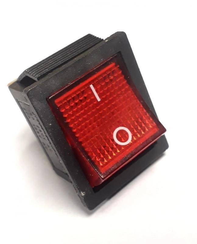 Vaggomkopplare Röd knapp