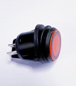 Vaggomkopplare med Orange LED
