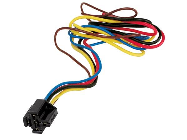 Hållare för bilrelä, kabel