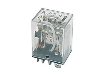 Relä 24 VDC, 2 Pol VX 10A