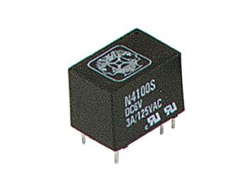 Relä 12 V, 3 A, miniatyr